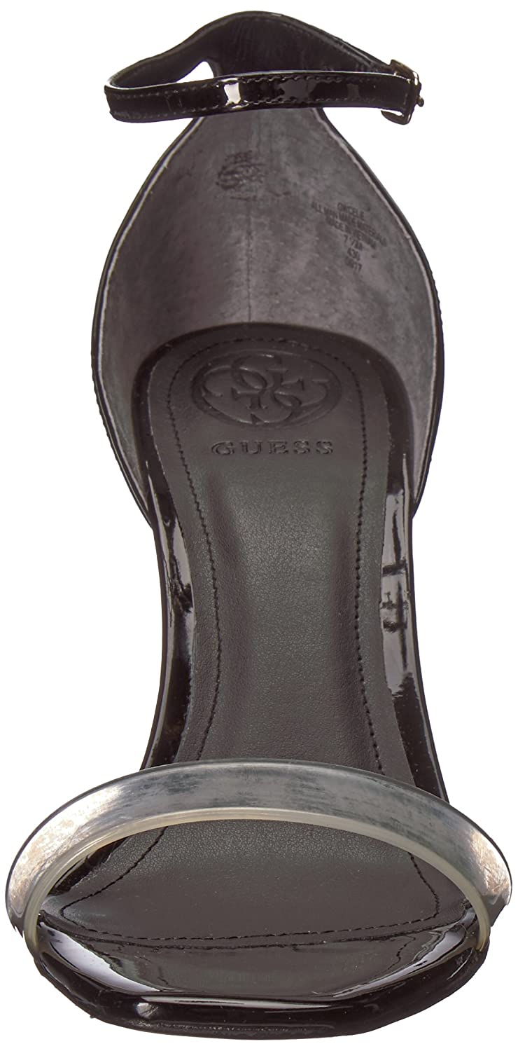 GUESS Women's Celie Slide Sandal B07342JLCV 8.5 B(M) US|Black