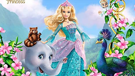 Kayra Decor Barbie As The Island Princess 3d Ruby Wallpaper Print