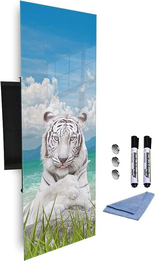 GlassArtist HMF 154335824 - Caja para Llaves (80 x 30 cm, con ...