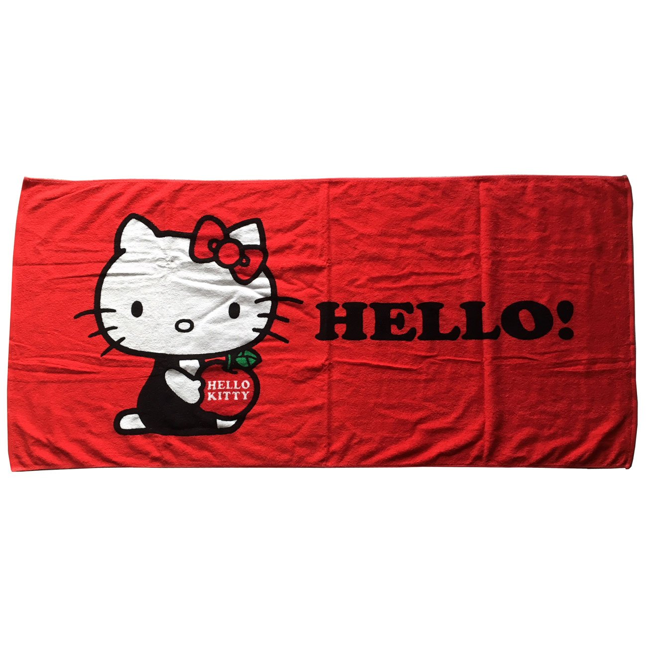 Hello Kitty Toalla Ducha Toalla Playa Fly Azul Original Sanrio