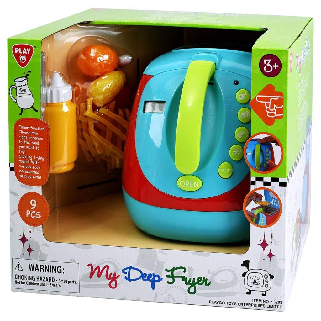 PlayGo Mi Primera Freidora Juguetes Niños Pequeños Simulación Cocina y Comida: Amazon.es: Juguetes y juegos