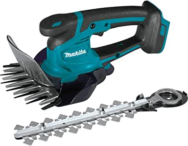 Makita XMU04ZX Lithium-Ion Cordless, Tool Only 18V LXT Grass Shear with Hedge Trimmer Blade, Teal