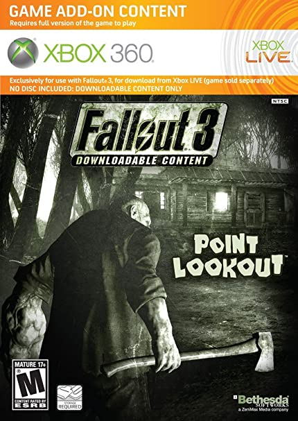 Amazon com: Fallout 3: Point Lookout - Xbox 360: Video Games