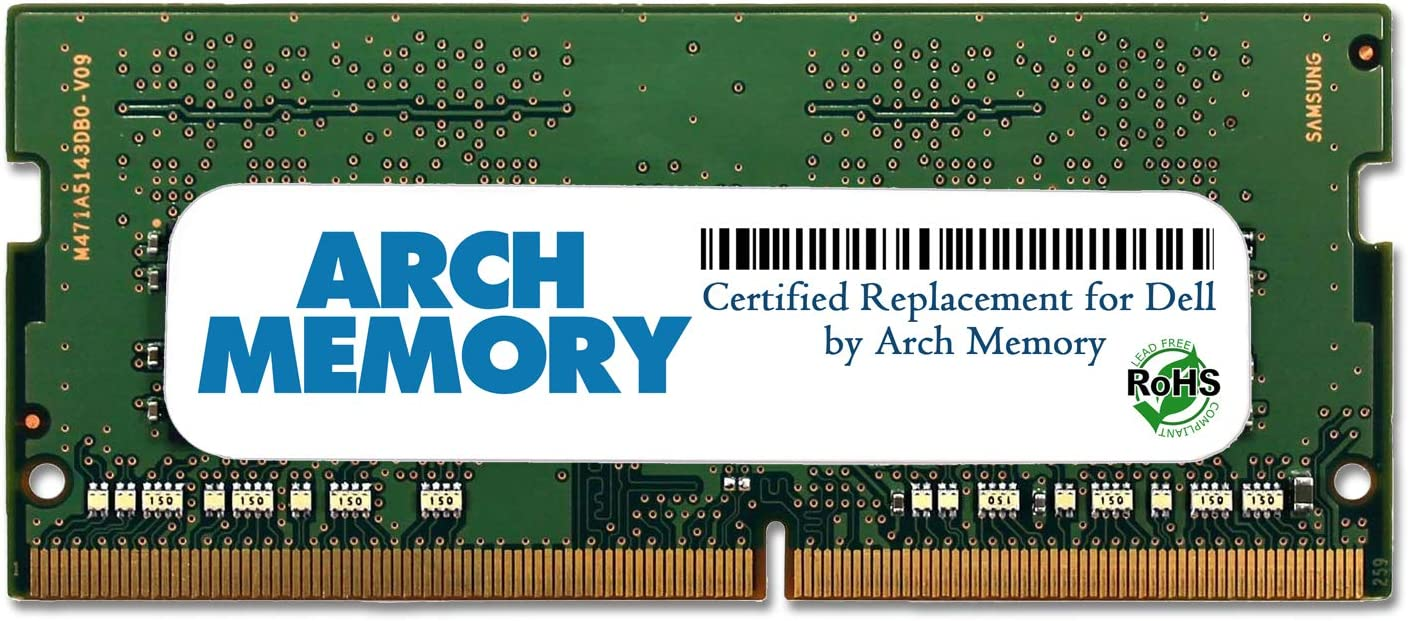 Arch Memory Replacement for Dell SNPMKYF9C/8G A9210967 8 GB 260-Pin DDR4 So-dimm RAM for Inspiron 15 (5566)