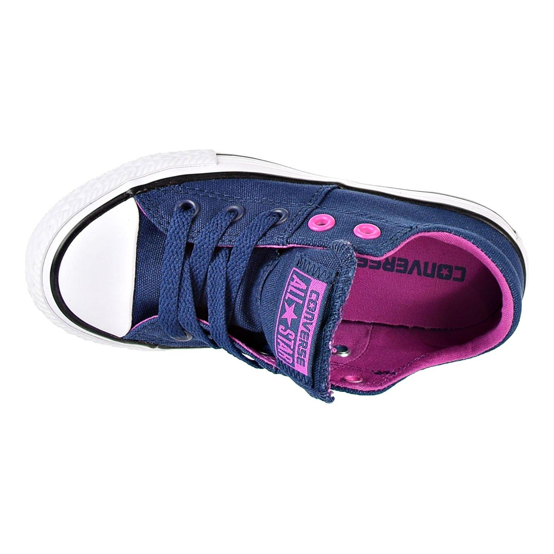 816b6ebf3c5a9 Amazon.com | Converse Chuck Taylor All Star Madison Ox Big Kid's Shoes Navy/Magennta/White  659953f | Sneakers