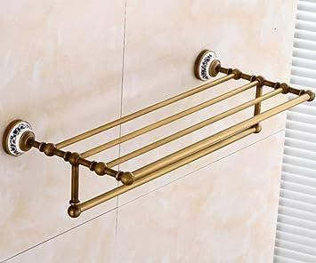 Handtuchhalter Antike-Bad Handtuchhalter Komplette Kupfer Badezimmer ...