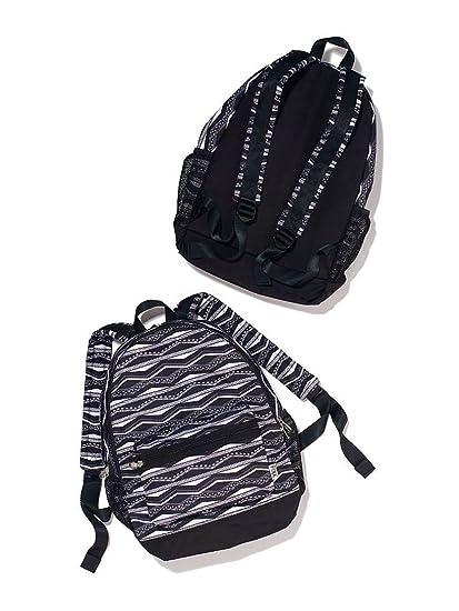 Victoria s Secret Pink Campus Backpack New Style 2014 (Black White Aztec) cf177d7036