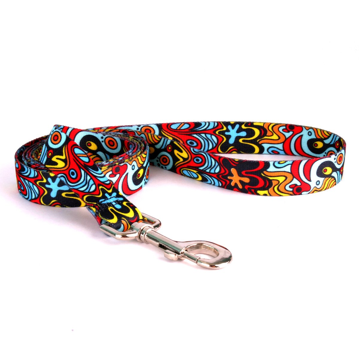 Yellow Dog Design Abstract Dog Leash 3/8'' Wide and 5' (60'') Long, X-Large