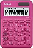 カシオ 電卓 12桁 (ビビッドピンク)CASIO カラフル電卓 ミニジャストタイプ MW-C20C-RD