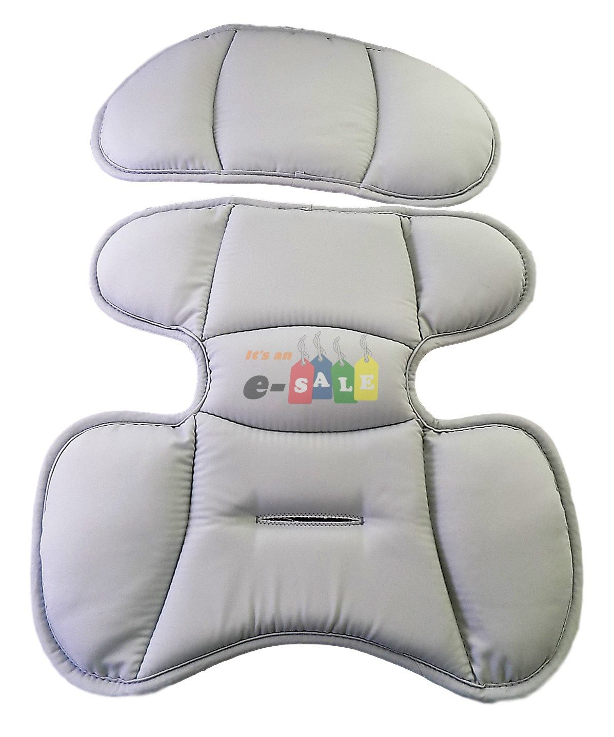 Replacement Infant Head and Body Insert Pads for Chicco KeyFit & KeyFit 30 Car Seat - Granita