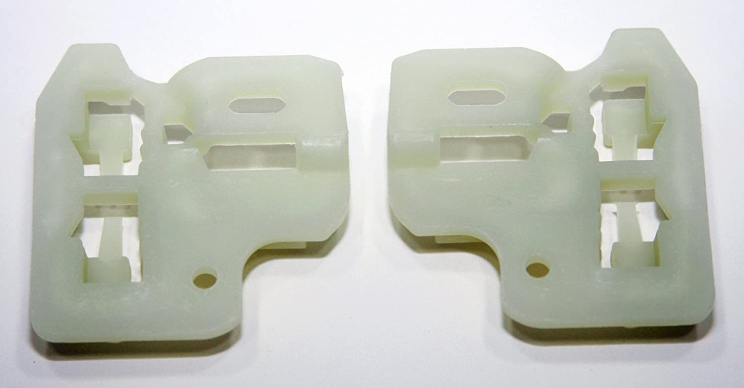2 - Front Pair Left or Right RegulatorFix BMW X5 E53 Window Regulator Repair Clips