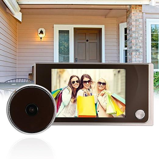"16 opinioni per Casa 120° Porta Digitale Peephole Viewer Spioncino 3.5"" LCD color screen display"