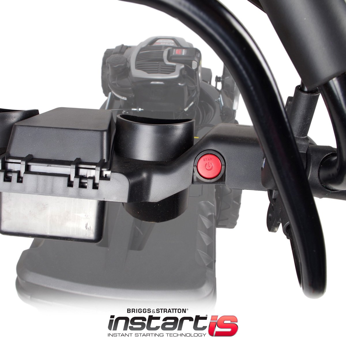 Brast - Cortacésped de gasolina automotor, motor Briggs & Stratton ...