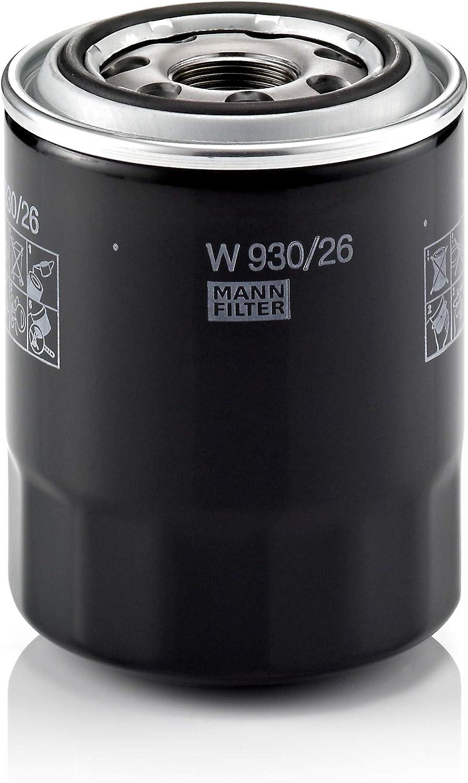 MANN-FILTER W 930/26 Original Filtro de Aceite, Para automóviles y camiones