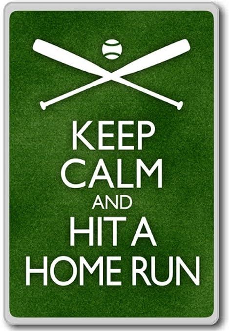 Amazon.com: Keep Calm And Hit A Home Run Baseball ...