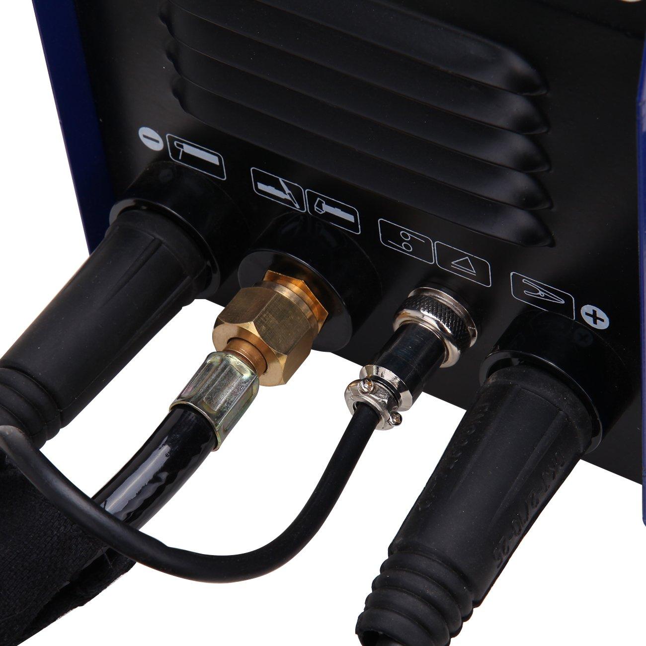 Ridgeyard 220V Máquina Soldadora Multifuncional 3 en 1 MMA / TIG / CUT Cortador de plasma inverso portátil: Amazon.es: Industria, empresas y ciencia