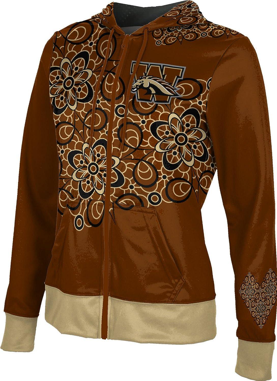 School Spirit Sweatshirt ProSphere Western Michigan University Girls Zipper Hoodie Foxy