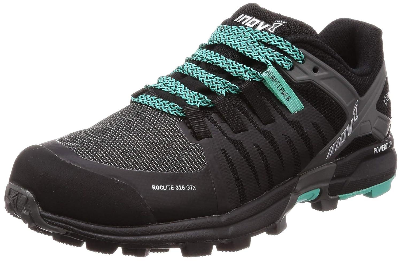 Inov-8 Women s Roclite 315 GTX Trail Running Shoe – Black Teal – 000717-BKTL-M-01