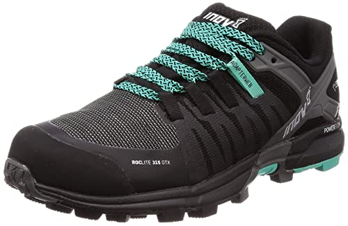 Inov-8 Women s Roclite 315 GTX Trail Running Shoe – Black Teal – 000717-BKTL-M-01
