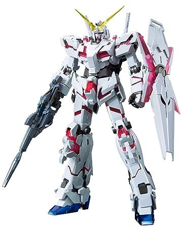 Amazon Com Bandai Hobby Mg Unicorn Gundam Titanium Finish Ms