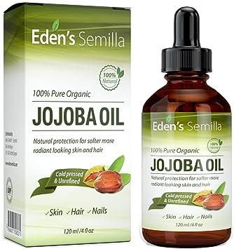 Jojobaöl 120 Ml 100 Organisch Zertifiziert Bester Natürlicher