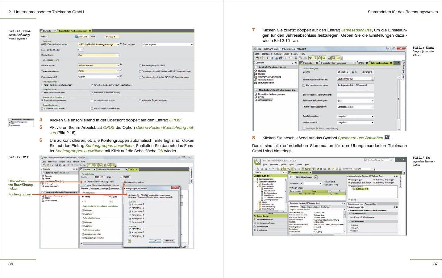 Kostenrechnung mit DATEV Kanzlei Rechnungswesen pro: 9783832800963 ...