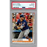 MEGA BOX MOJO REFRACTOR 2019 Bowman Chrome Prospects Peter Pete Alonso GRADED PSA 10 GEM MINT RC #BCP127 New York Mets Baseball Rookie Card