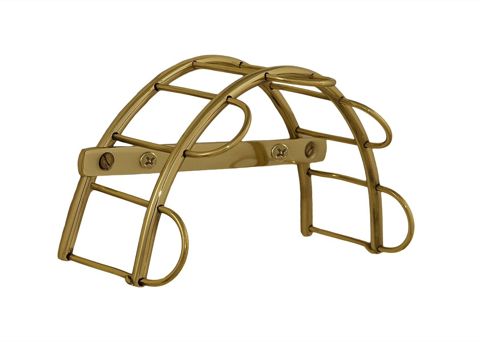 Tack Room Studio Brass Bridle Rack (Brass) by Tack Room Studio