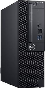 Dell Optiplex 3060 Intel Core i5-8500 X6 3GHz 16GB 256GB SSD Win10, Black (Renewed)