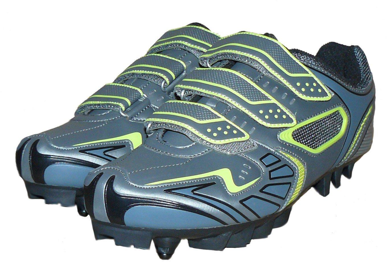 protectWEAR - Zapatos de bicicleta de montaña BT-GR-43 FBA-MS-GR