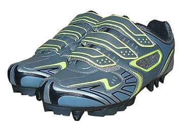 protectWEAR - Zapatos de bicicleta de montaña BT-GR-44: Amazon.es: Coche y moto