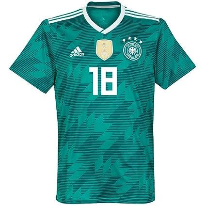 half off 34c5a 92fe9 Amazon.com : adidas Germany Away Kimmich 18 Jersey 2018/2019 ...
