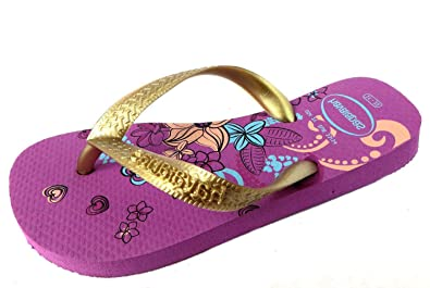 67a46b53f Size UK Kids 12 (EU 31 32) Havaianas Girl s H. Kids Flores Synthetic ...