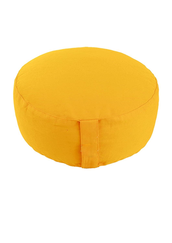 デラックスZafu瞑想クッションwith取り外しと洗濯可能カバー – Made in USA B00UU6D7R2 Buckwheat Hull Filling|パープル パープル Buckwheat Hull Filling