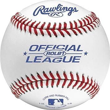 Rawlings (ROLB1 – Pelota de béisbol) (sola bola): Amazon.es ...
