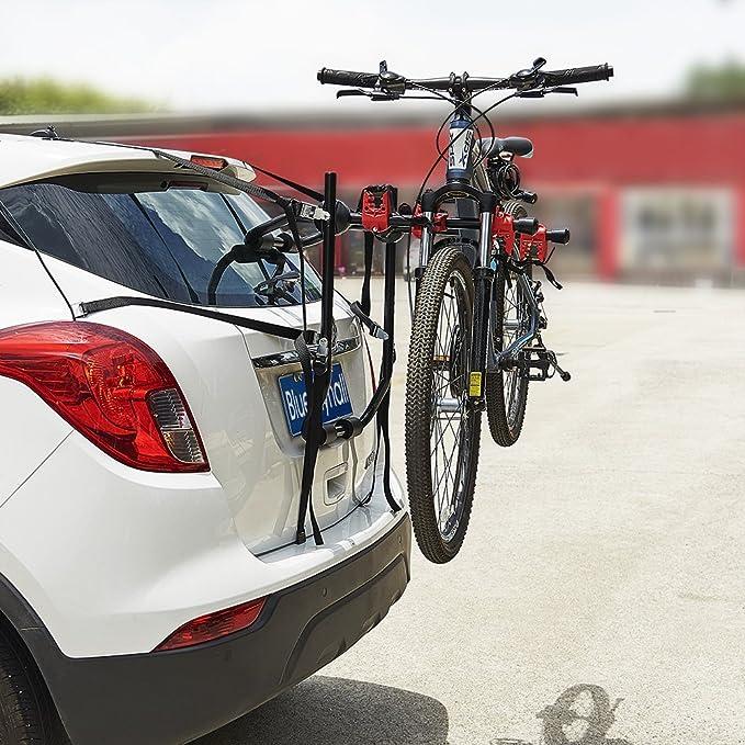 Portabici con cinture Blueshyhall auto supporto bici Rack posteriore Mount montato