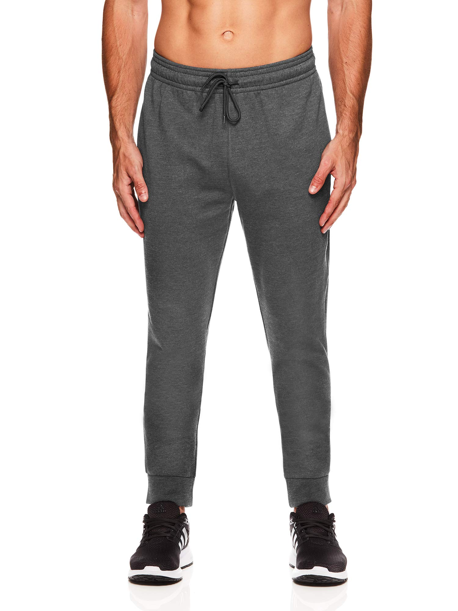 HEAD Men's Jogger Activewear Pants - Performance Workout & Running Sweatpants - Ultra Charcoal Heather, Small