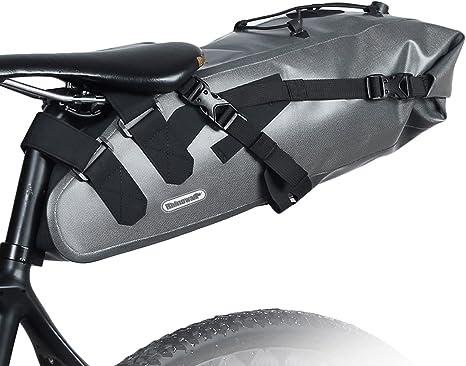10L Bolsa de Sillín Enrollable de Bicicleta Montaña Bici Mochila ...