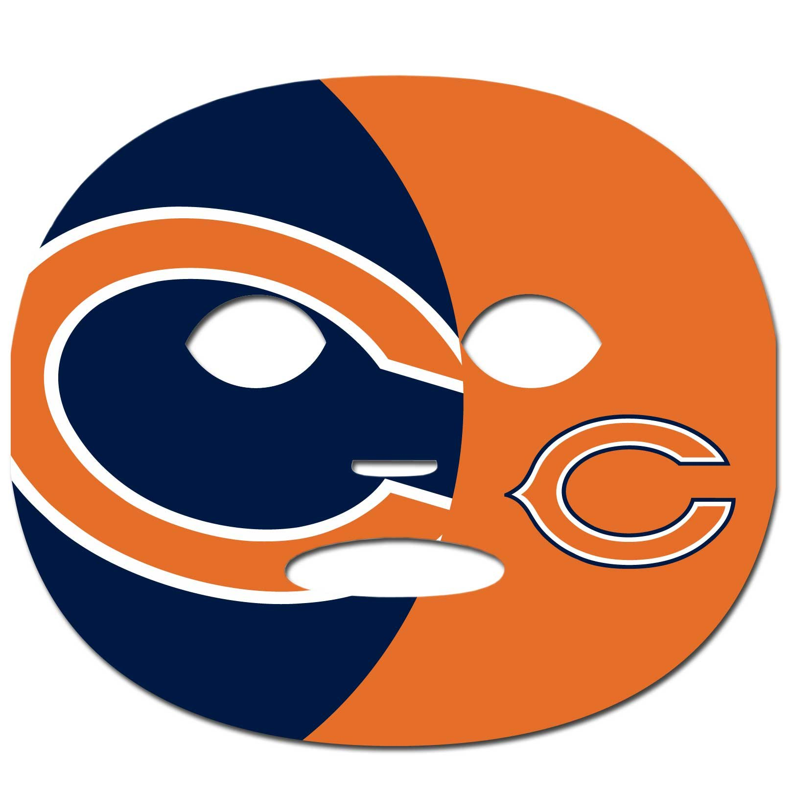 Siskiyou NFL Chicago Bears Game Day Face Temporary Tattoo