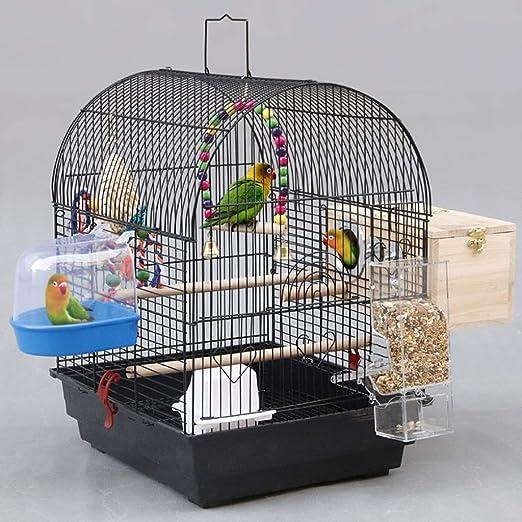 Jaula de ave de metal de jaula de vuelo duradera Jaula de ave de ...