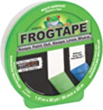 FrogTape CF 120 Painter's Tape, Multi-Surface, 36mm x 55m, Green, 1 Roll (202944)