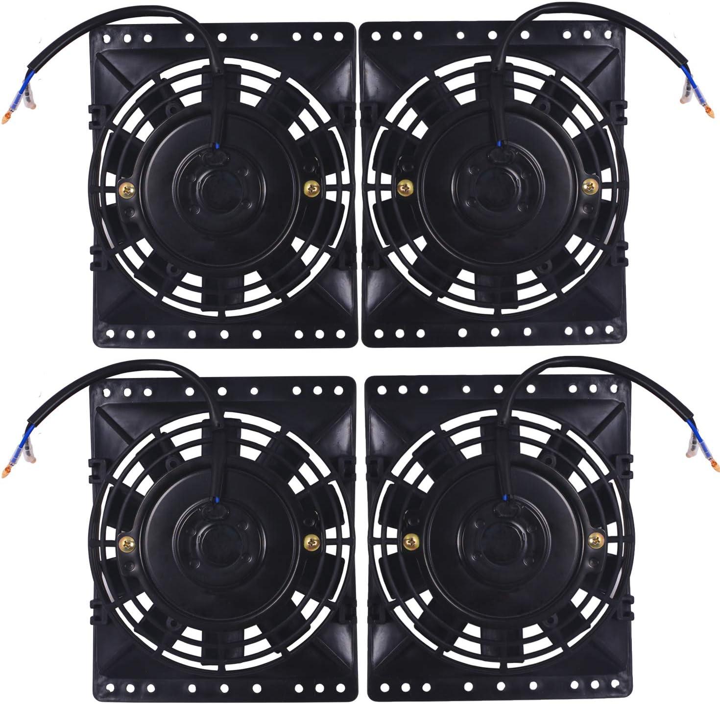 American Volt Quad 12 voltios ventilador de refrigeración de ...