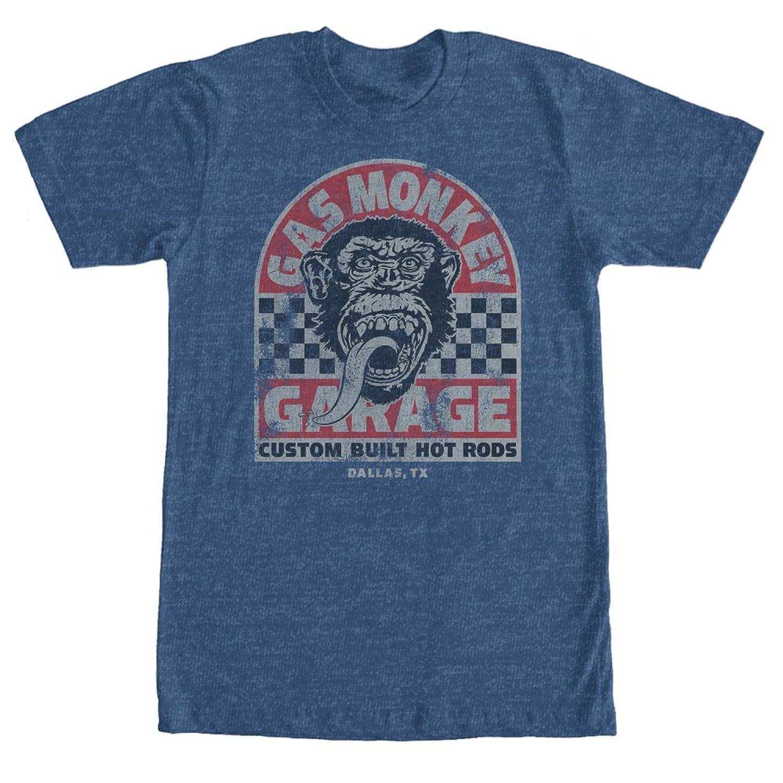 Fifth Sun Gas Monkey Mens Custom Built Hot Rod T Shirt Amazon