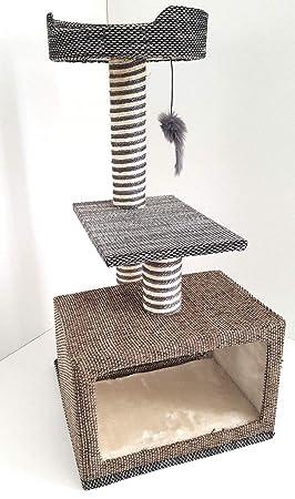 Lemio Árbol rascador para Gatos, sisal: Amazon.es: Productos para mascotas