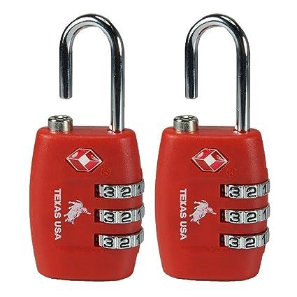 Lock Lock Usa usa pack of 2 metal luggage lock amazon in bags wallets