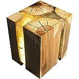 Designer Handmade Chopped Wood Epoxy Resin Coffee Table