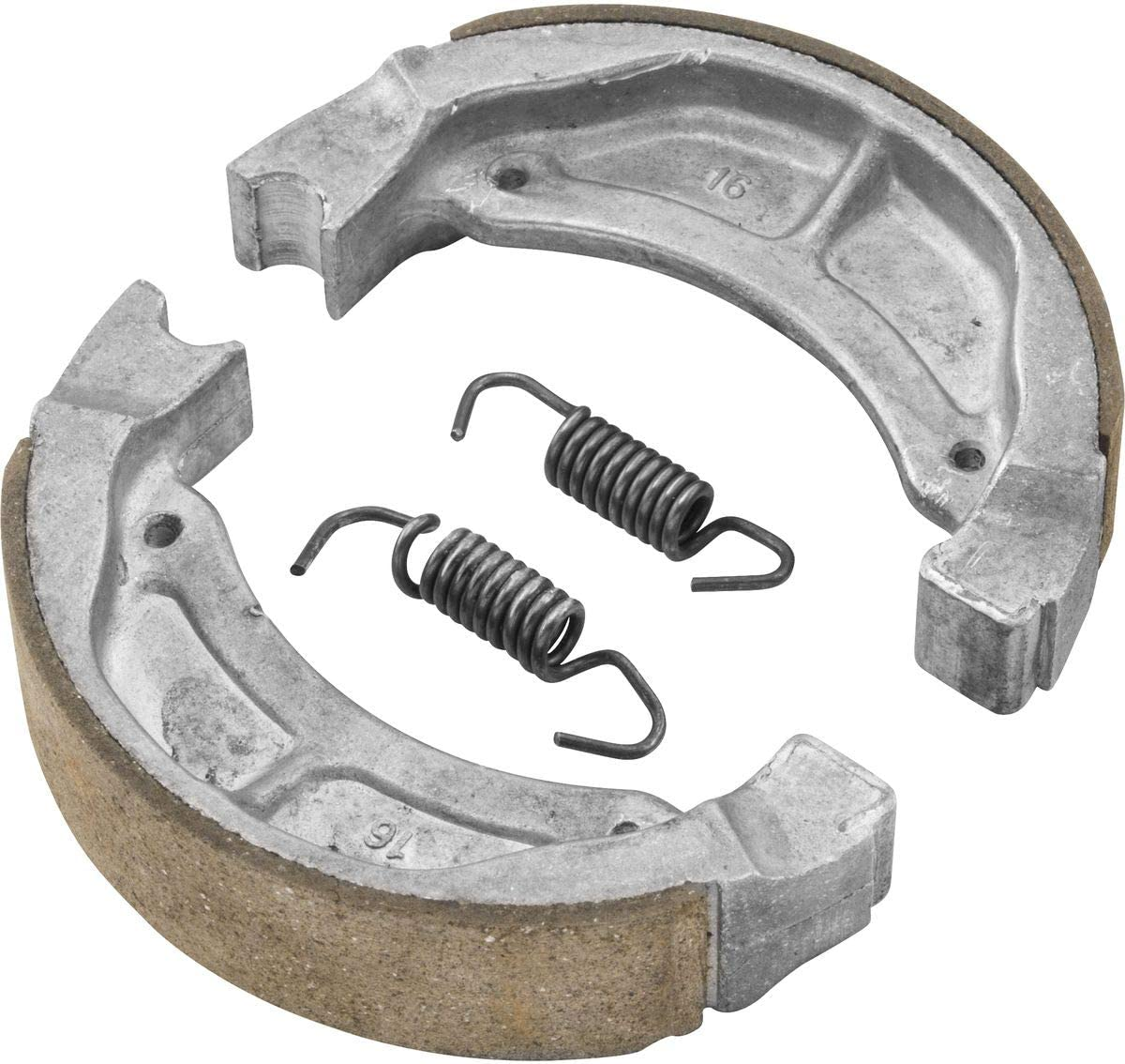 Front for 00-07 Yamaha TTR90 BikeMaster Brake Shoes
