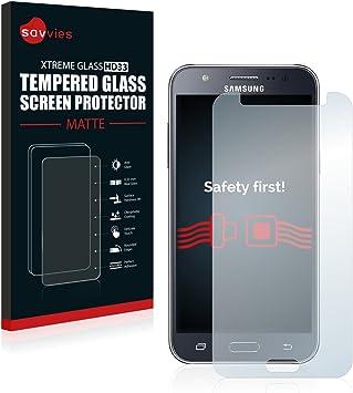 savvies Protector Cristal Mate Compatible con Samsung Galaxy J5 2015: Amazon.es: Electrónica