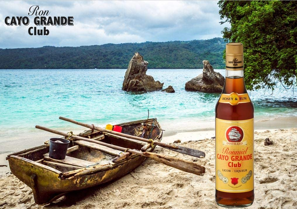 Ron Miel Honey Rum 20% 70cl Cayo Grande Club