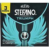 Stefano, Jabón en barra, Triumph, 120 g 3 pack